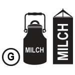 G – Milch oder Lactose